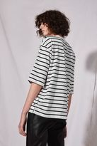 Boutique Popper side stripe t-shirt