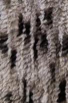 Alice + Olivia Celine Fur Vest