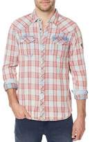 Buffalo David Bitton Siqel Plaid Cotton Casual Button-Down Shirt