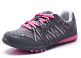 Gray & Hot Pink Athletic Sneaker - Women