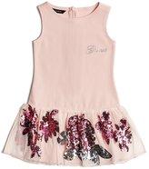 GUESS Sequin Mesh Dress (2-5xy)