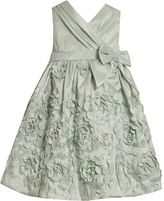 Bonnie Jean floral taffeta dress - toddler