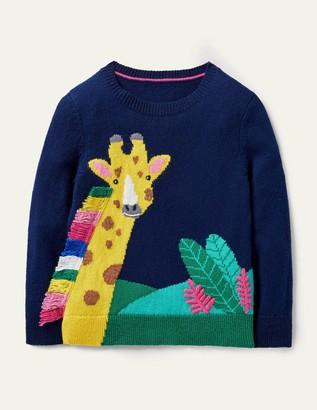 Boden Jungle Scene Sweater