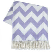 Jonathan Adler Purple Zigzag Throw