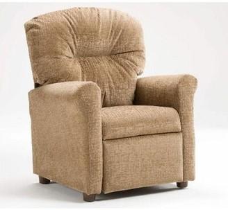 Zoomie Kids Hickman Children's Recliner Chair Color: Raven Navy