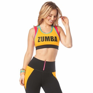 Zumba Women's Sports Bra with High Impact Support