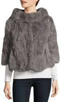 La Fiorentina Cropped Fur Jacket