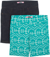 Lee Classic Fit Knit Bermuda Shorts - Big Kid Girls Juniors Plus