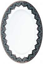 Philippe Deshoulieres Dhara Peacock Oval Dish