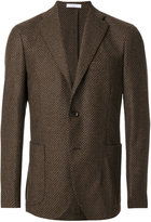 Boglioli woven single breasted jacket