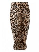 Select Fashion Fashion Womens Multi Animal Print Midi Skirt - size 6