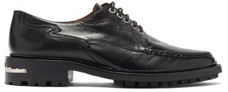 Toga Virilis Leather Oxford Brogues - Black
