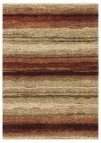 Orian Rural Road Red Area Rug