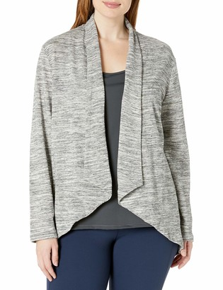 Just My Size Women's Plus-Size French Terry Flyaway Cardigan
