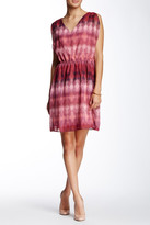 Lavand Printed V-Neck Dress