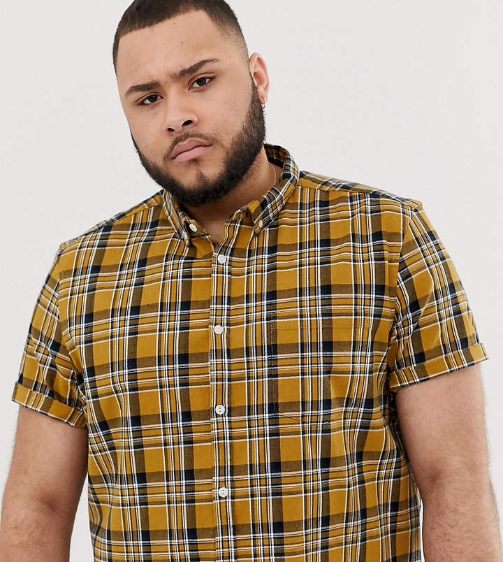 6e4464fc7ce Asos Yellow Men's Shirts - ShopStyle
