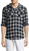 Globe Alford Checkred Hooded Sportshirt