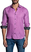 Jared Lang Cotton Paisley Cuffs Sportshirt