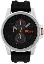 HUGO BOSS Detroit Sport Black Multi Dial Black Rubber Strap Mens Watch
