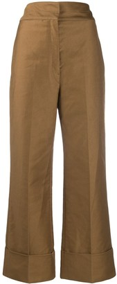 Lemaire High-Rise Straight Trousers