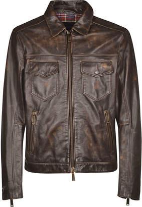 DSQUARED2 Vintage Zipped Jacket