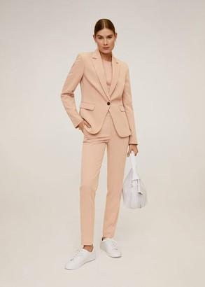 MANGO Essential structured blazer white - 1 - Women