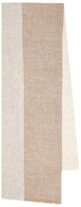 Brunello Cucinelli Lurex and cashmere-blend scarf