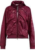 adidas by Stella McCartney Crinkled Shell Hooded Jacket