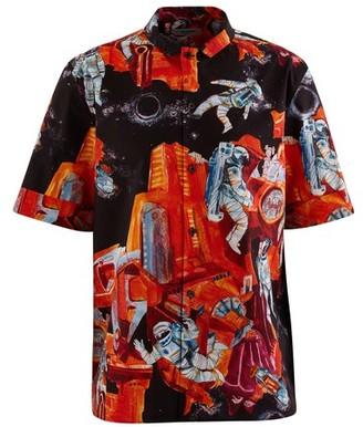 Valentino Cosmonaut printed shirt