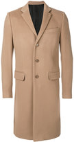 Givenchy classic single breasted coat - men - Cotton/Polyester/Cupro/Wool - 48