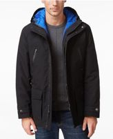 London Fog Men's Big & Tall 3-in-1 Hooded Coat