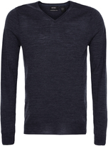 Oxford Merino V-Neck Pullover