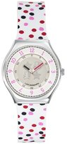 Lulu Castagnette Women's Quartz Watch with White Dial Analogue Display and Plastic Multicolour - 38708