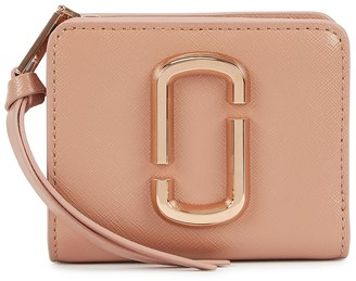 Marc Jacobs Snapshot pink leather wallet