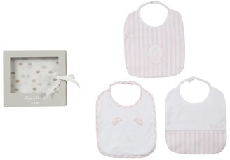 Tartine et Chocolat Cotton Bibs Gift Set (Pack of 3)