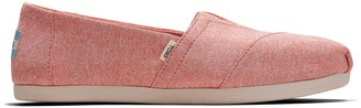 Toms Pink Repreve Recycled Women's Classics