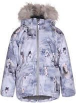 Molo Cathy Horse Jacket w/ Faux-Fur Trim, Size 4-10