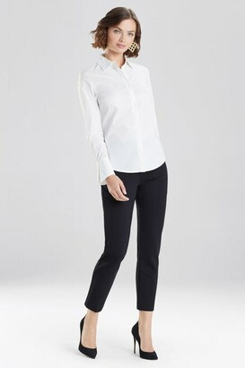 Natori Cotton Poplin Shirt