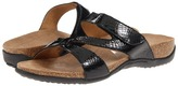 Orthaheel Dr. Weil by Faith Euro Slide (Black Snake) - Footwear