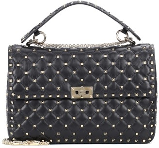 Valentino Rockstud Spike Large leather shoulder bag