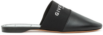 Givenchy Bedford black flat mules