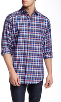Thomas Dean Woven Long Sleeve Regular Fit Shirt