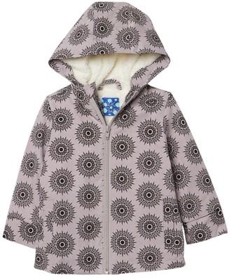 Kickee Pants Faux Fur Lined Raincoat