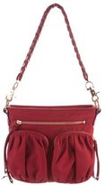 MZ Wallace Leather-Trimmed Shoulder Bag