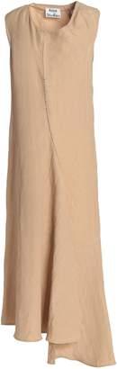 Acne Studios Asymmetric Linen-blend Midi Dress