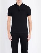 Givenchy Logo-patch Cotton-piqué Polo Shirt