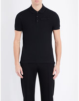 Givenchy Logo-patch Cotton-piqué Polo Shirt