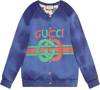 Gucci Cotton sweatshirt with logo