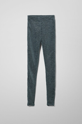 Weekday Adelina Trousers - Blue