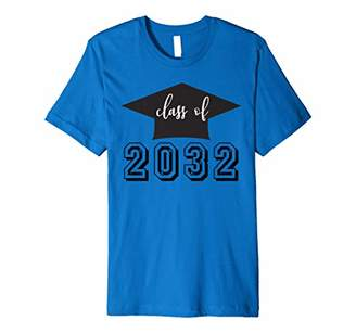 with me. Class Of 2032 Grow Graduation First Day Of School Premium T-Shirt